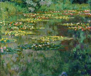 art, awesome, and claude monet image