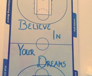 Basketball, believe, and love image