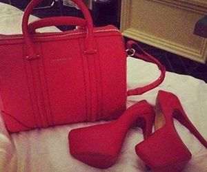 red, fashion, and bag image