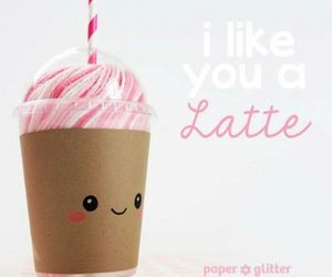 latte, valentine, and cute image