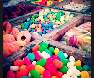 candy, multicolor, and shop image