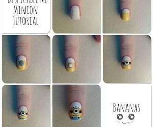 nails, minions, and tutorial image