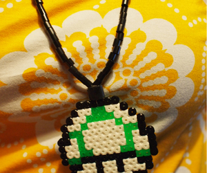 8 bit, beads, and hama image