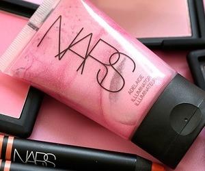 makeup, nars, and pink image