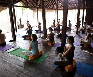 goa, india, and yoga image