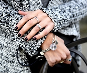 Braclets, fashion, and girl image