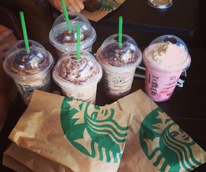 delicious, frappuccino, and starbucks image