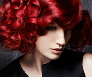 girl, pretty hair, and red hair image