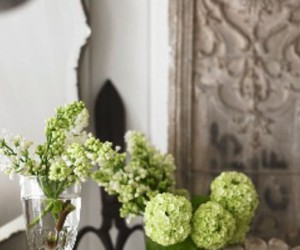 flowers, inspiration, and interior decorating image