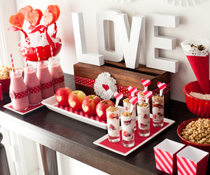 love, valentine, and food image
