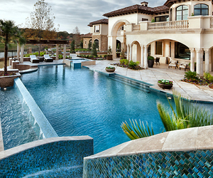 future home, mansion, and money image