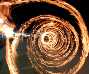 fire, light, and photography image