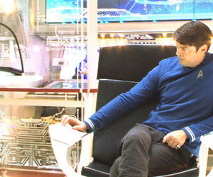 bones, star trek, and karl urban image