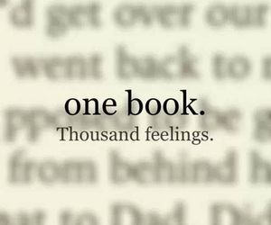 book, feelings, and quotes image