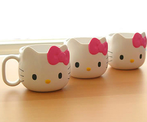 hello kitty and cup image