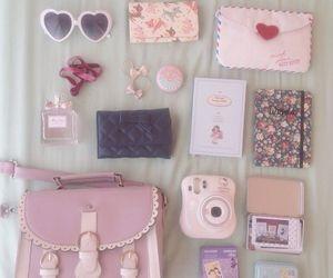 cute, bag, and girly image