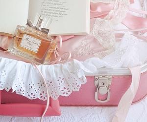 pink, perfume, and dior image