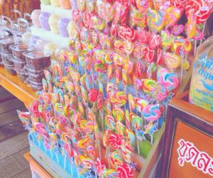 big, candy, and colorful image