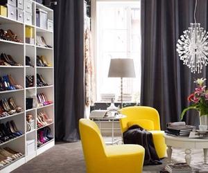 closet, fashion, and interior design image