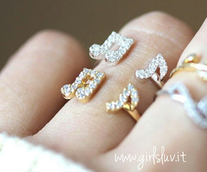 jewelry, cute ring, and girl ring image