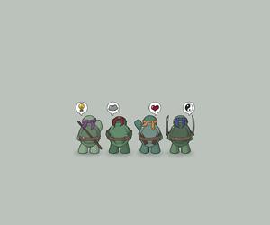 teenage mutant ninja turtles, tmnt, and cute image