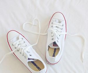 converse, white, and chucks image