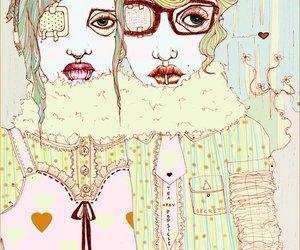 illustration and glasses image