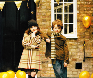 Burberry, kids, and fashion image