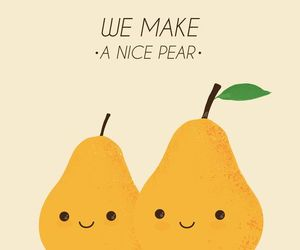 pear, love, and cute image