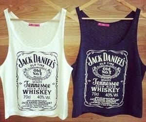 fashion, jack daniels, and white image