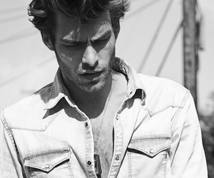 model, black and white, and Jon Kortajarena image