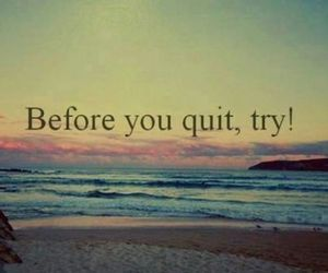 try, quote, and quit image