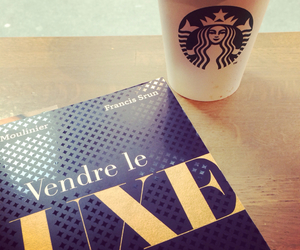 book, luxe, and starbucks image