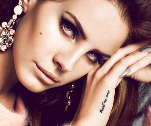 lana del rey, lana, and tattoo image