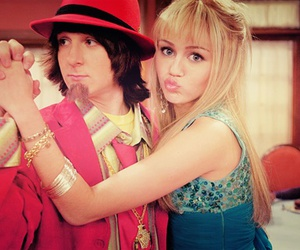 hannah montana, duck face, and miley cyrus image