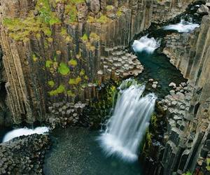 cliffs, iceland, and rocks image