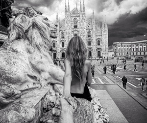 love, couple, and milan image