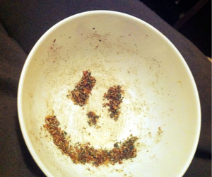 bowl, smile, and chop image