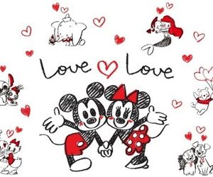 disney, love, and couple image