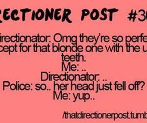 one direction and directioner post image