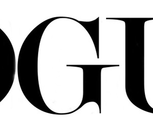 vogue, fashion, and Logo image