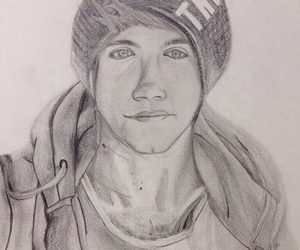 drawing, twitter, and niall image