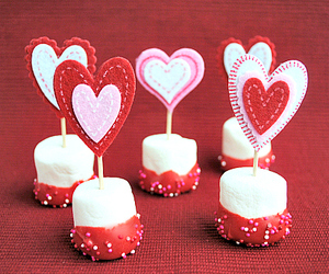 dessert, food, and hearts image
