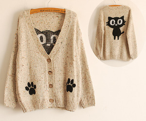 cat and sweater image