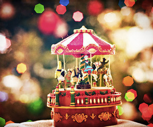 carousel and toy image