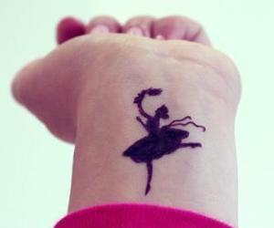 ballet, tattoo, and dance image