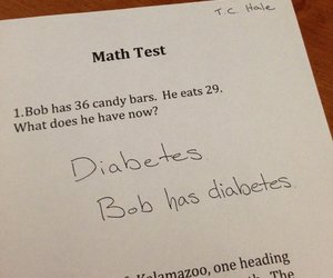 bob, candy, and diabetes image