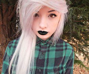 alt girl, cute girl, and emo image