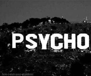 black&white, hollywood, and psychopath image