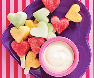 fruit, food, and heart image